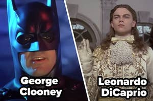 George Clooney and Leonard DiCaprio's worst movies