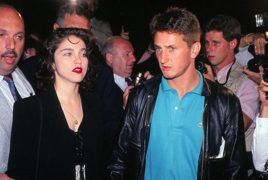 When she dated Sean Penn