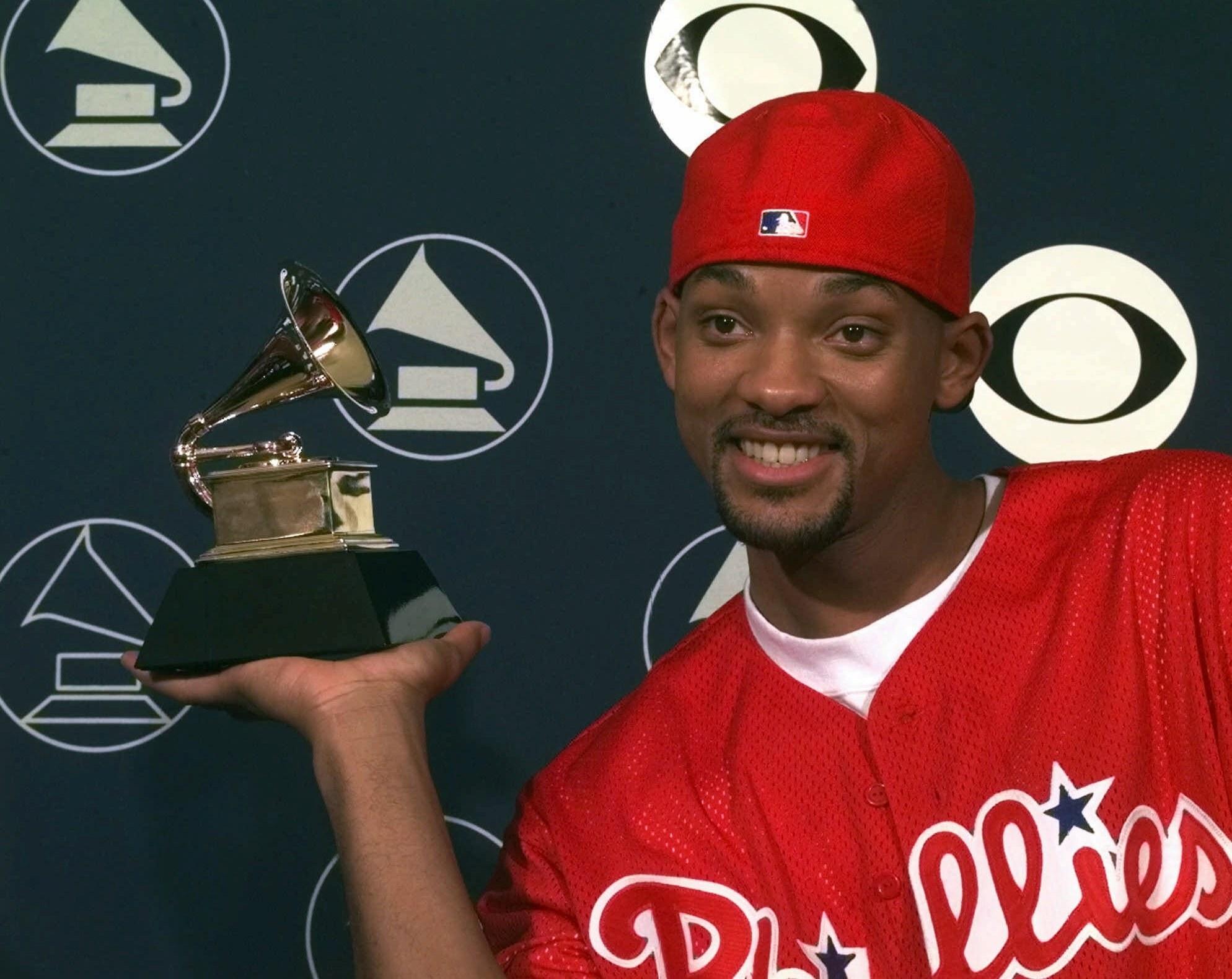 With a Grammy Award