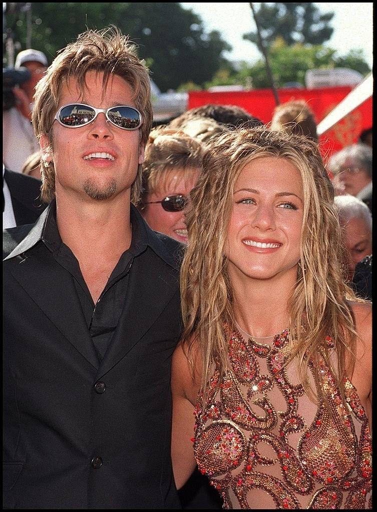 When she dated Brad Pitt