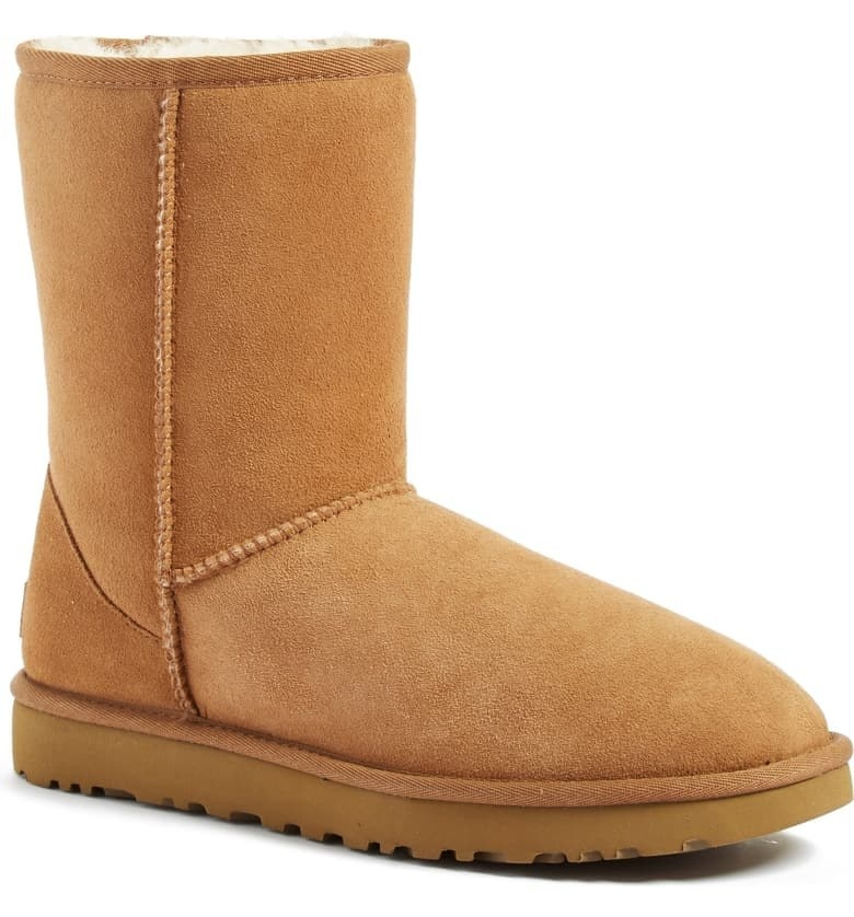 Light brown UGG boot