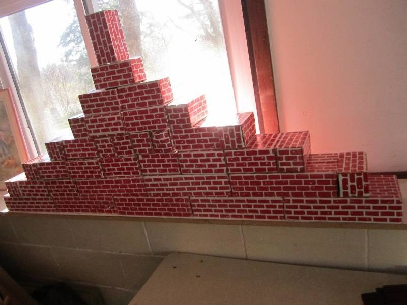 red classroom blocks