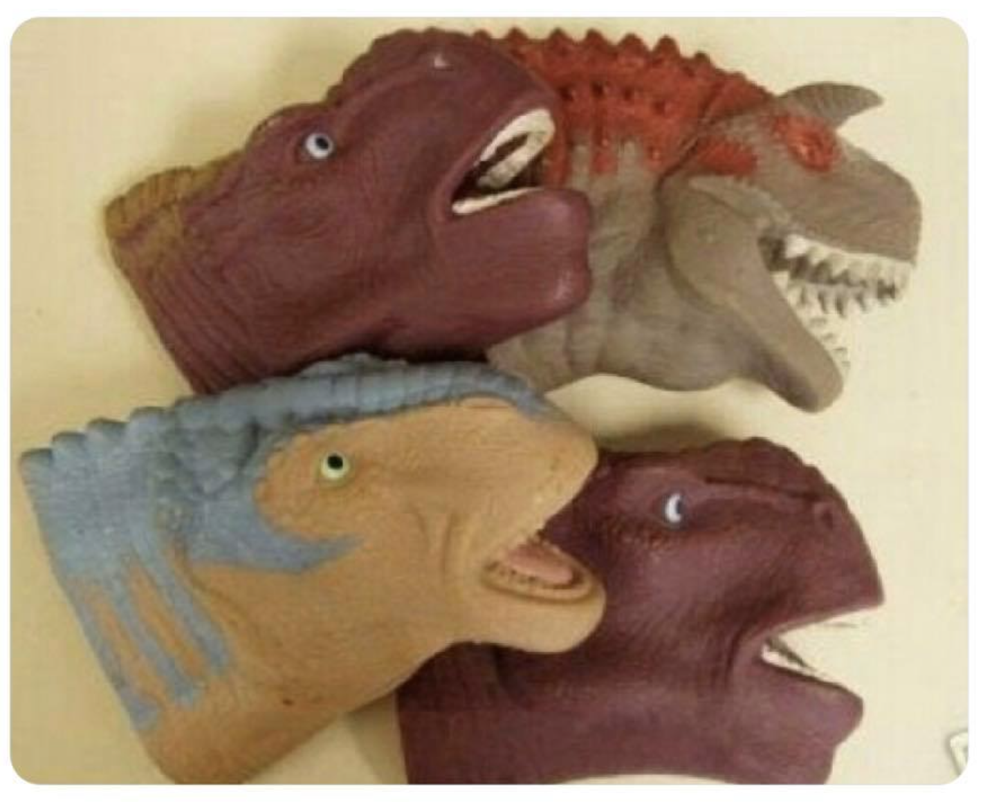 land before time hand puppets