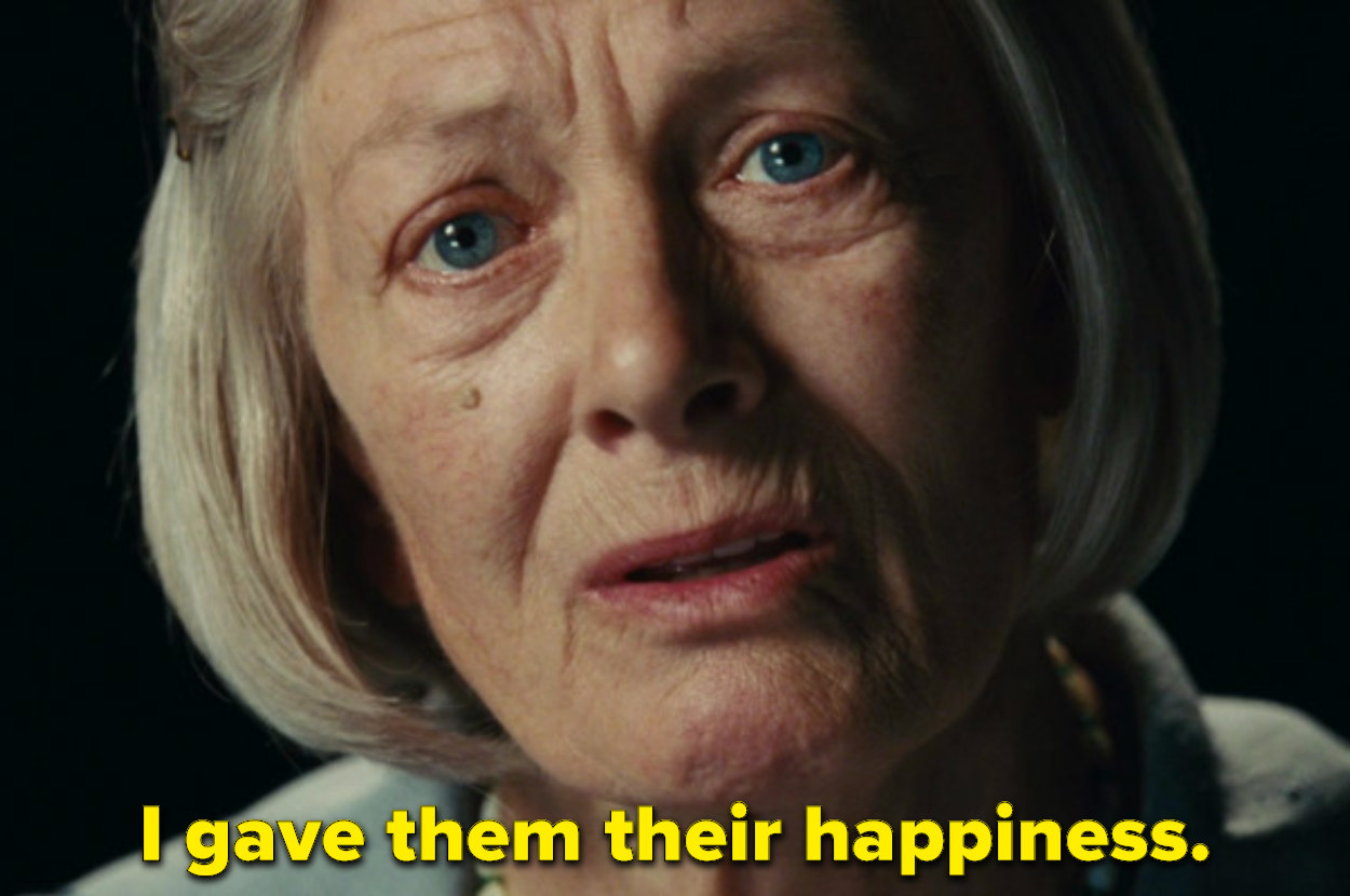 """Old Briony says """"I gave them their happiness"""""""
