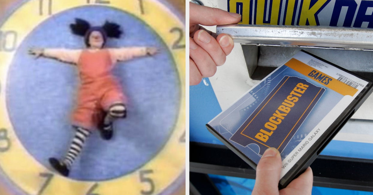 28 Pictures That Will Unlock Core Memories Millennials Didn't Even Know They Had - buzzfeed