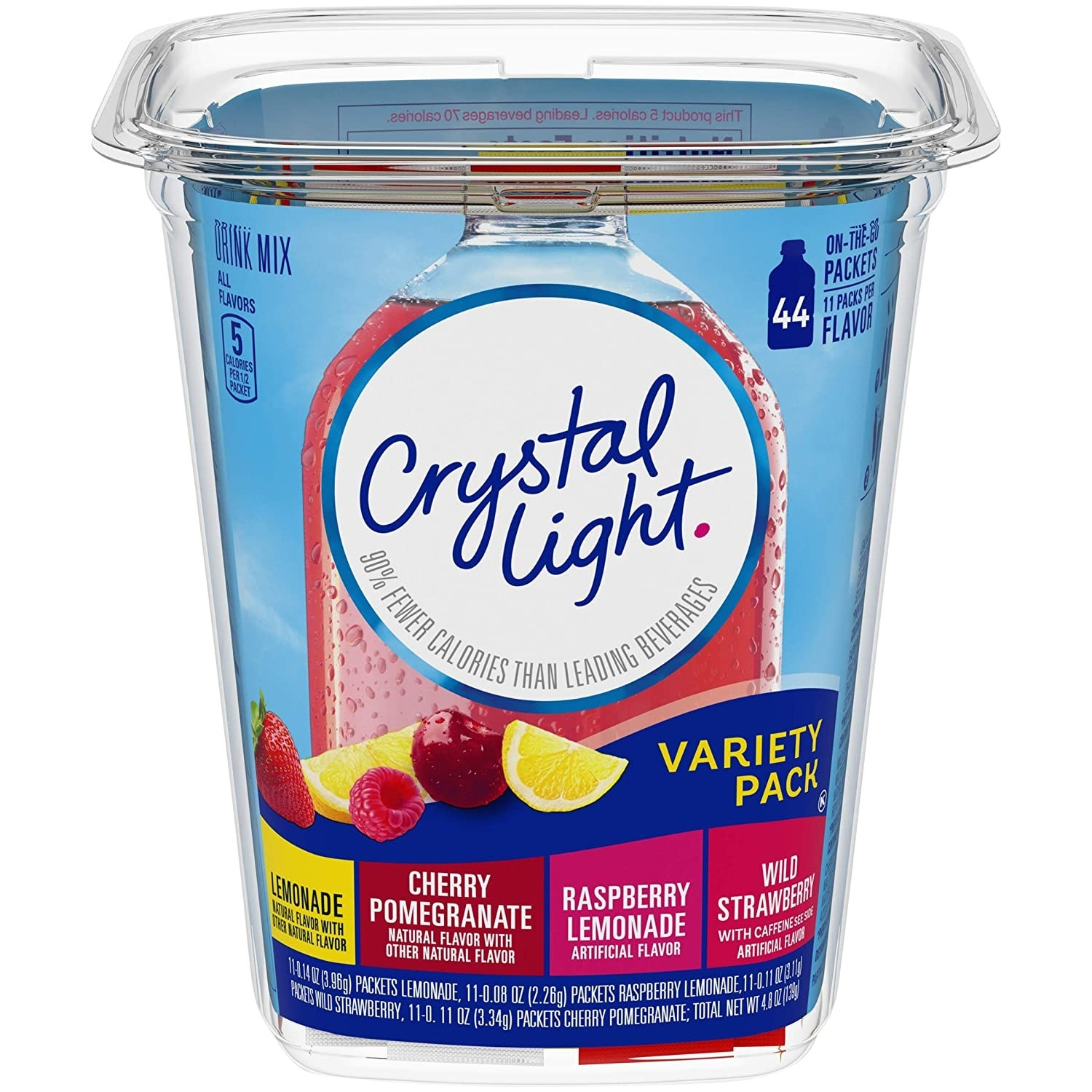 the Crystal Light pack