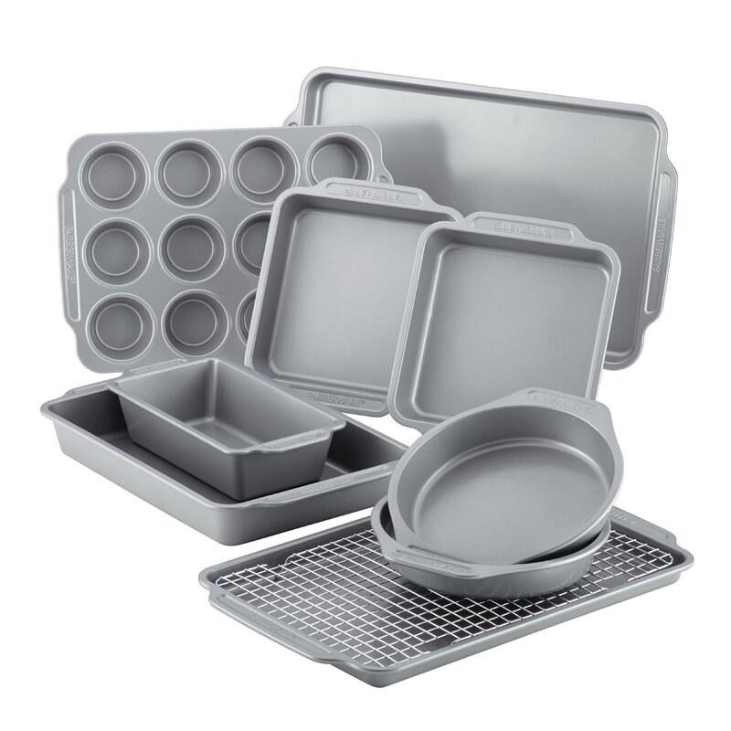 the non-stick pan set