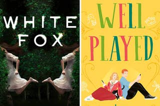 White Fox book cover / Well Played book cover