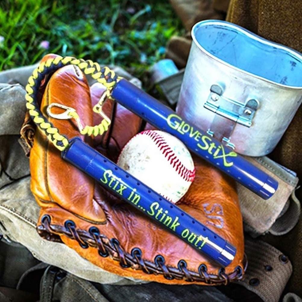 The Glovestix with a baseball glove