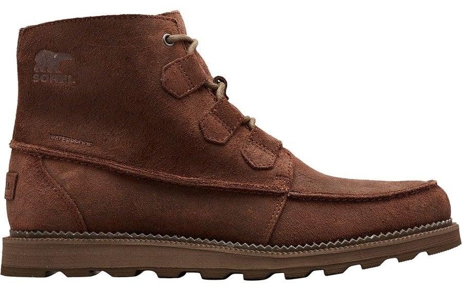 dark brown chucka style suede boots