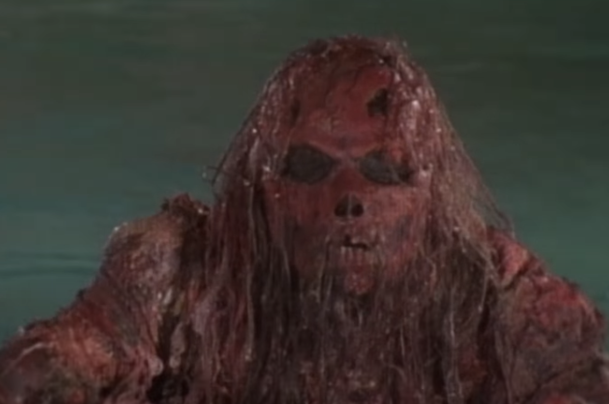 the red corpse in the pool
