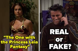 Rachel and Joey in Friends