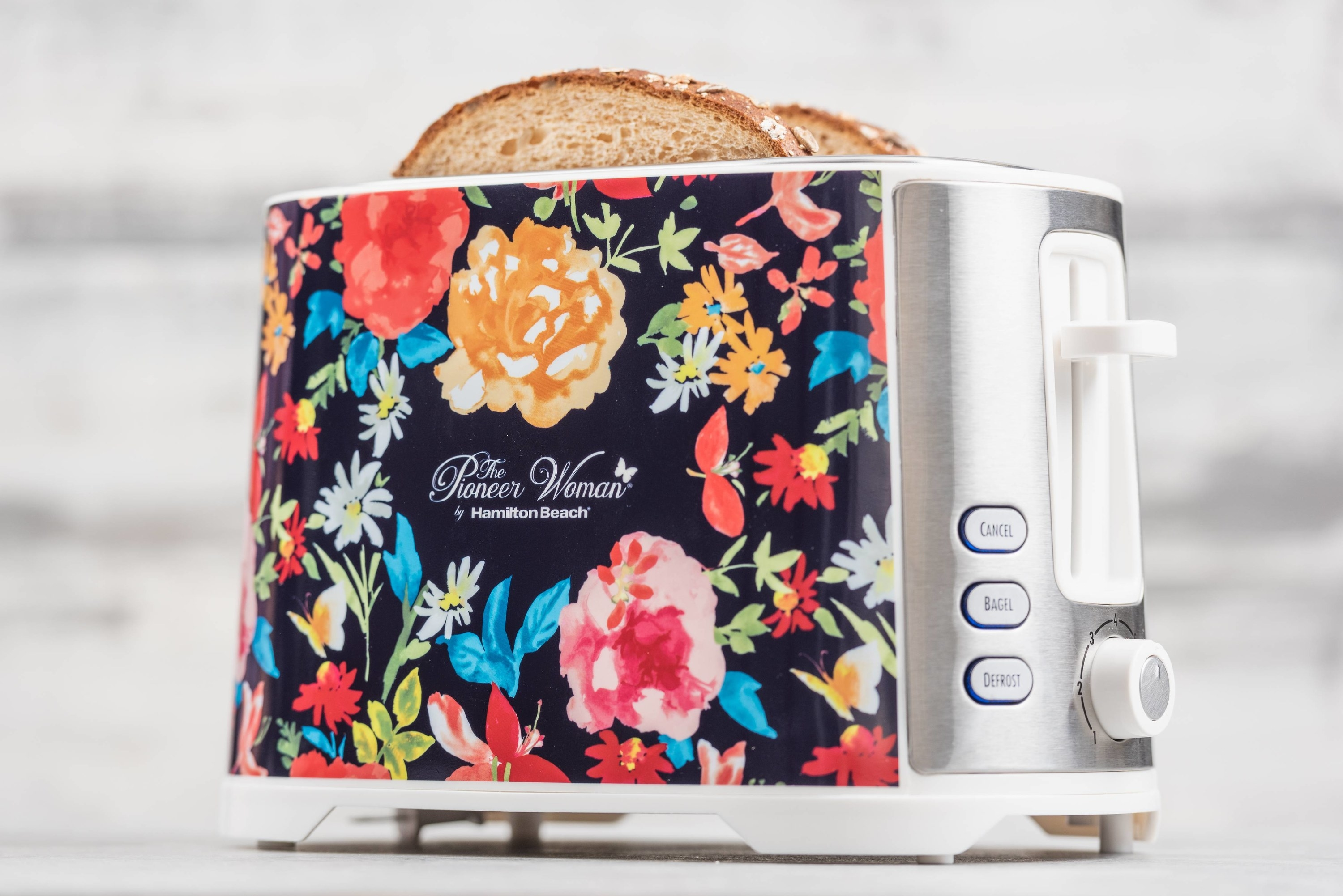 The floral toaster
