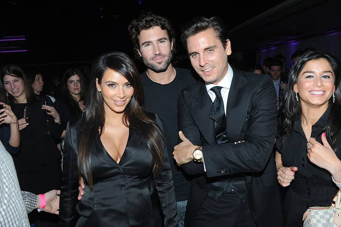 Kim Kardashian, Brody Jenner, Scott Disick