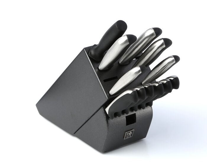 The Henckels Fine Edge Synergy 13 Piece Knife Block Set
