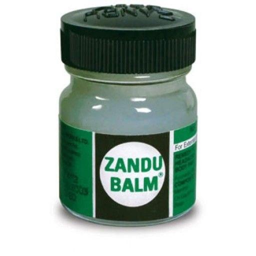 Zandu balm, a popular pain relief balm in india