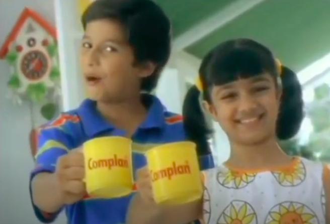 Shahid kapoor and ayesha takia in a complan ad