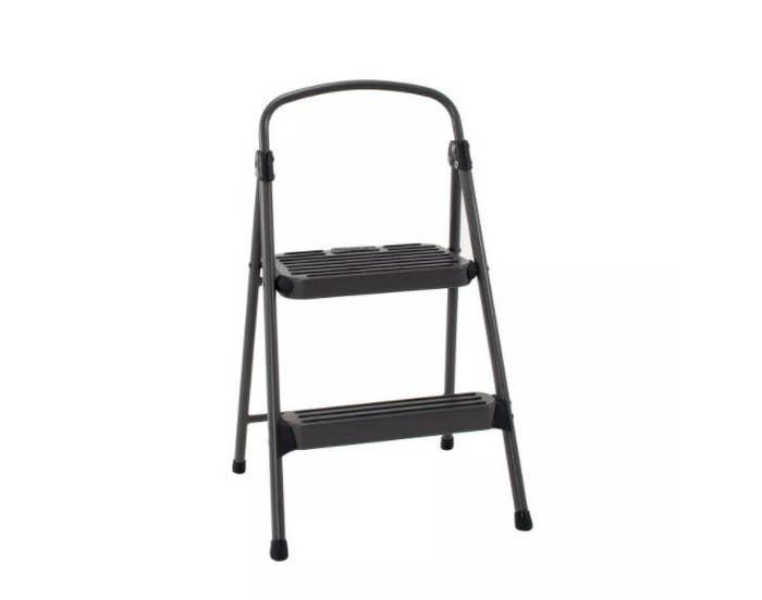 cosco sturdy step stool on a white background