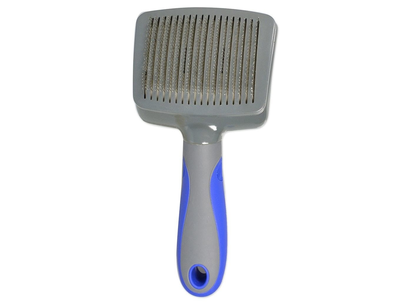 dog grooming brush with fine tooth comb