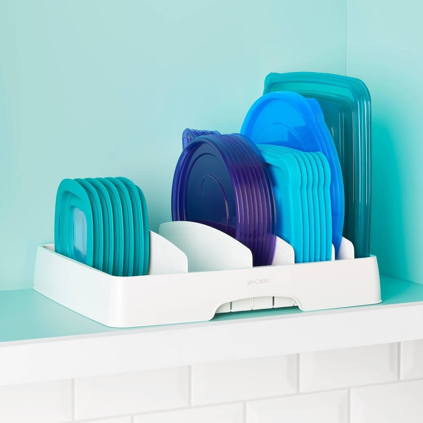 The container lid organizer