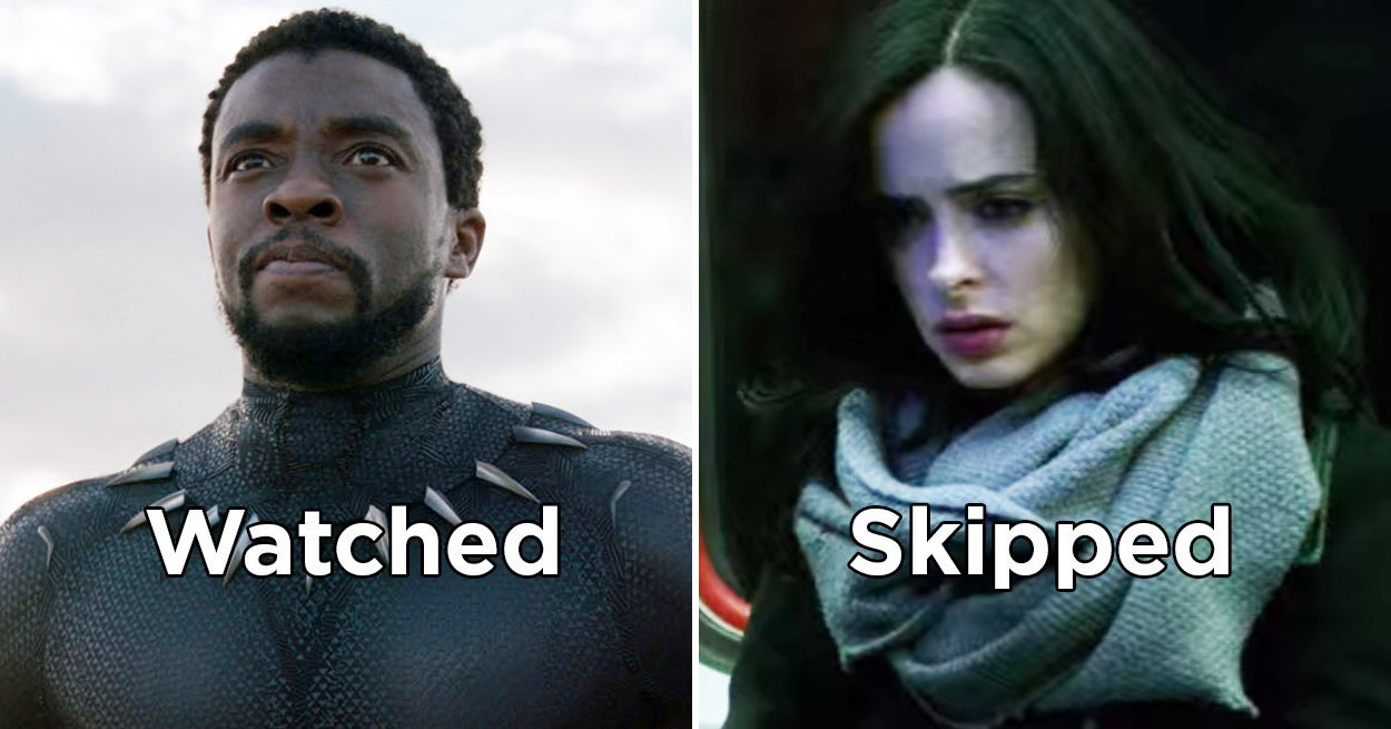 "This ""Watched It\"" Or \""Skipped It\"" Marvel Quiz Will Reveal If You"
