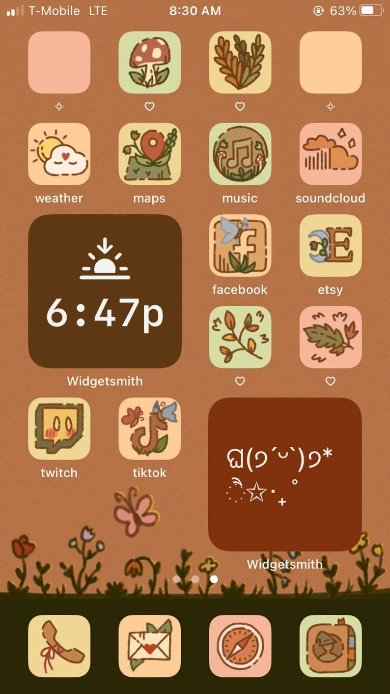 Ios14 Aesthetic App Icon Themes