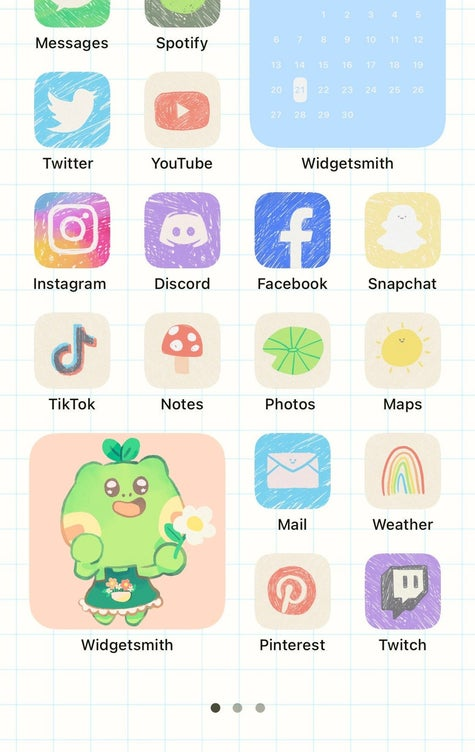 Ios14 Aesthetic App Icon Themes Can you change the cover of a group of apps? ios14 aesthetic app icon themes