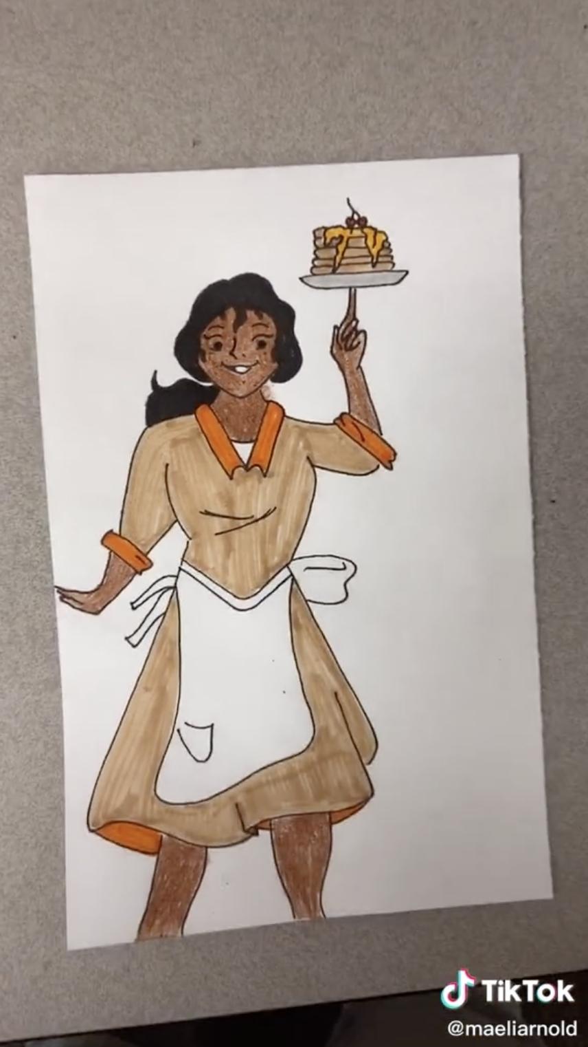 Scooby Doo Velma as Tatiana.