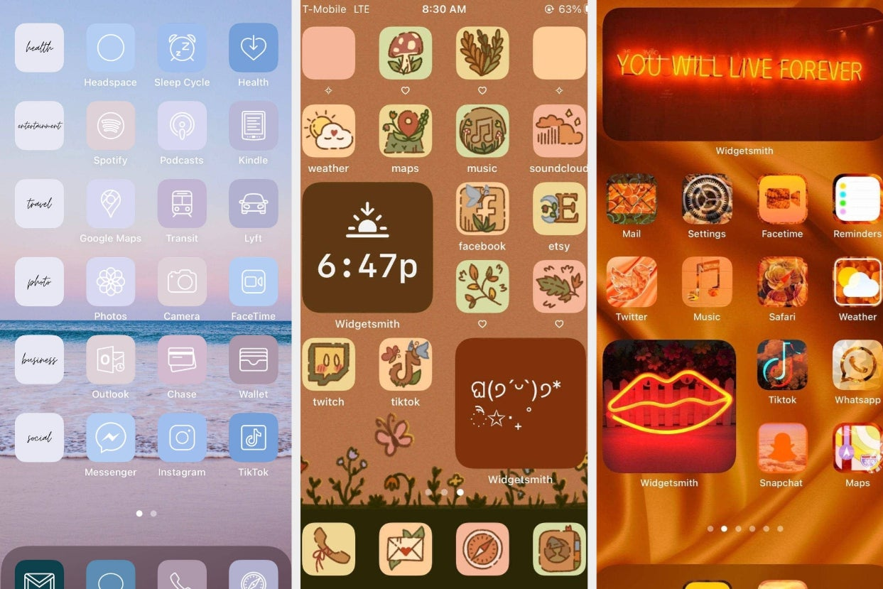 20 Aesthetic iOS14 App Icons That'll Make Your Phone Feel ...