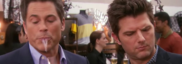 Chris and Ben from Parks and Recreation