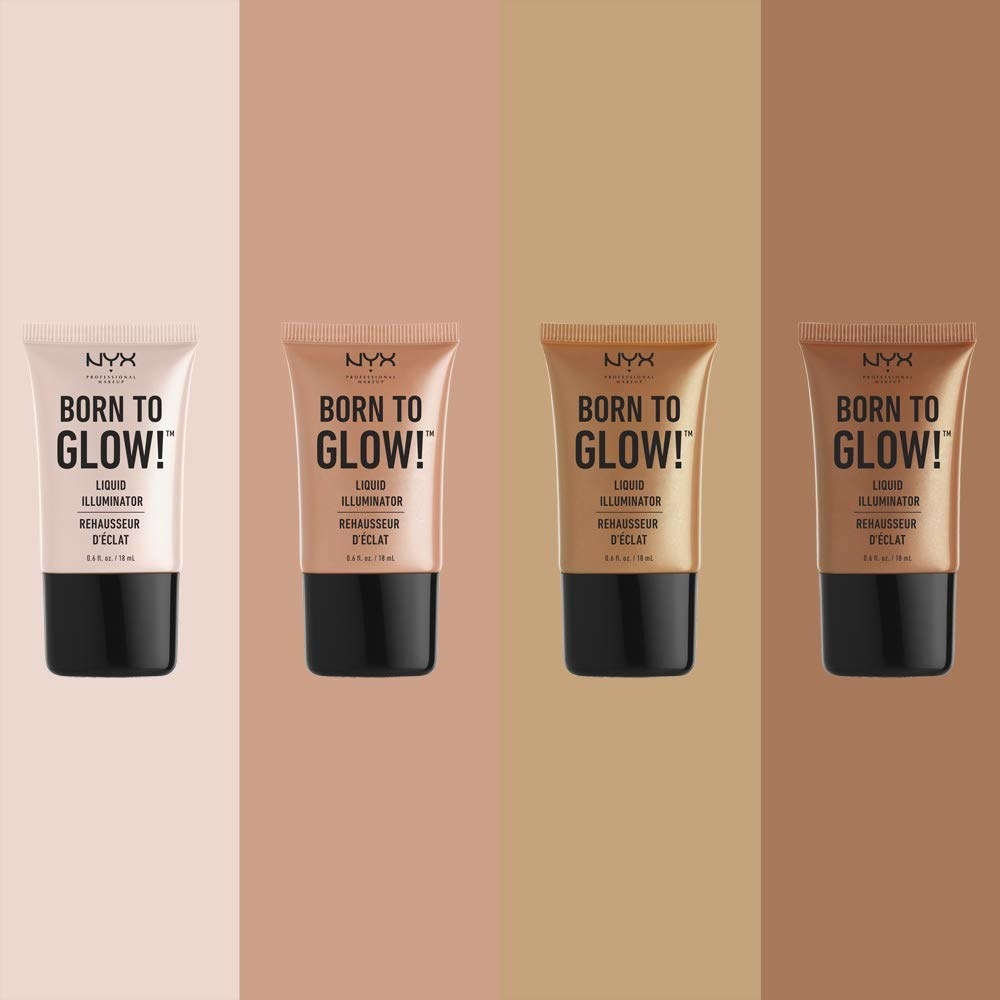 The highlighters in four shades