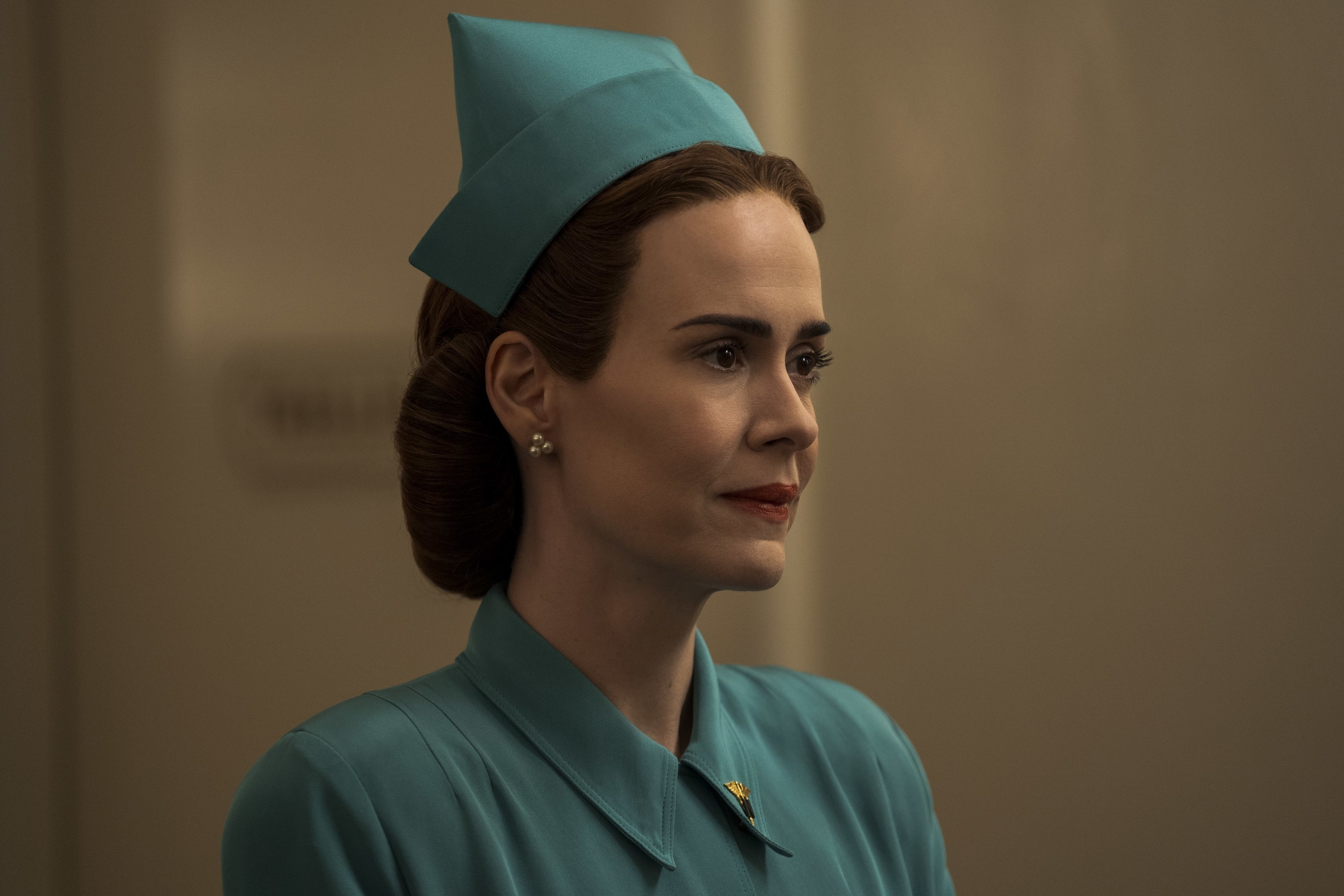 "Sarah Paulson as Nurse Ratched on ""Ratched"""