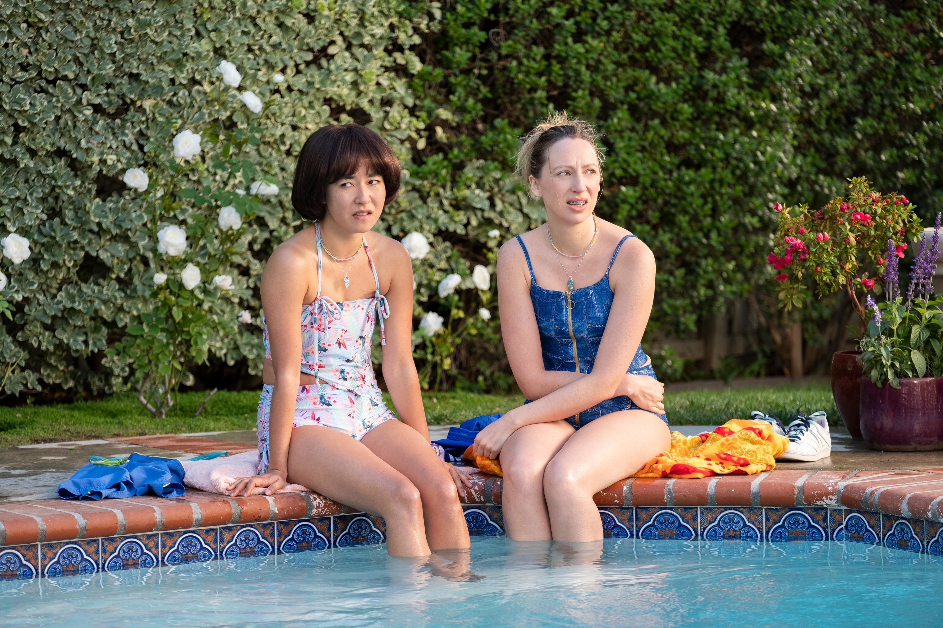 "Maya Erskine and Anna Konkle as Maya and Anna on ""Pen15"""