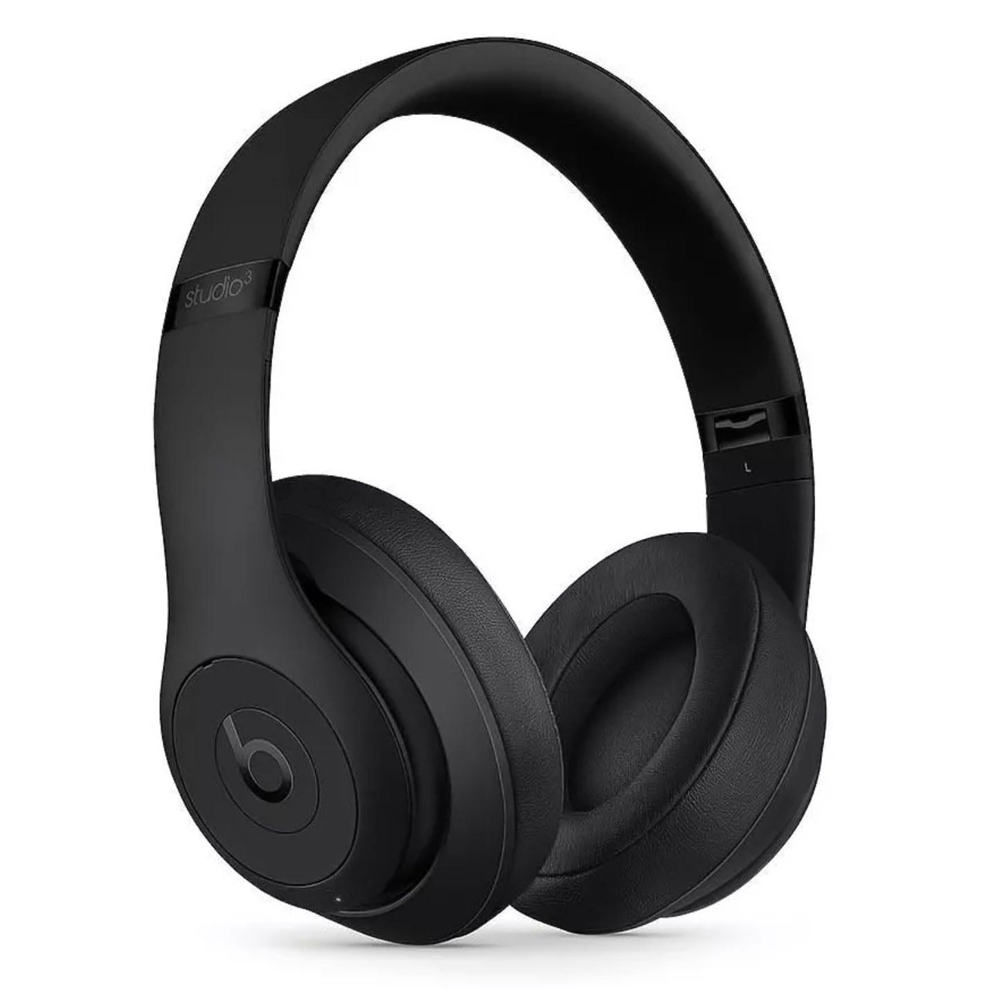 Black Beats Society3 over the ear noise-canceling headphones