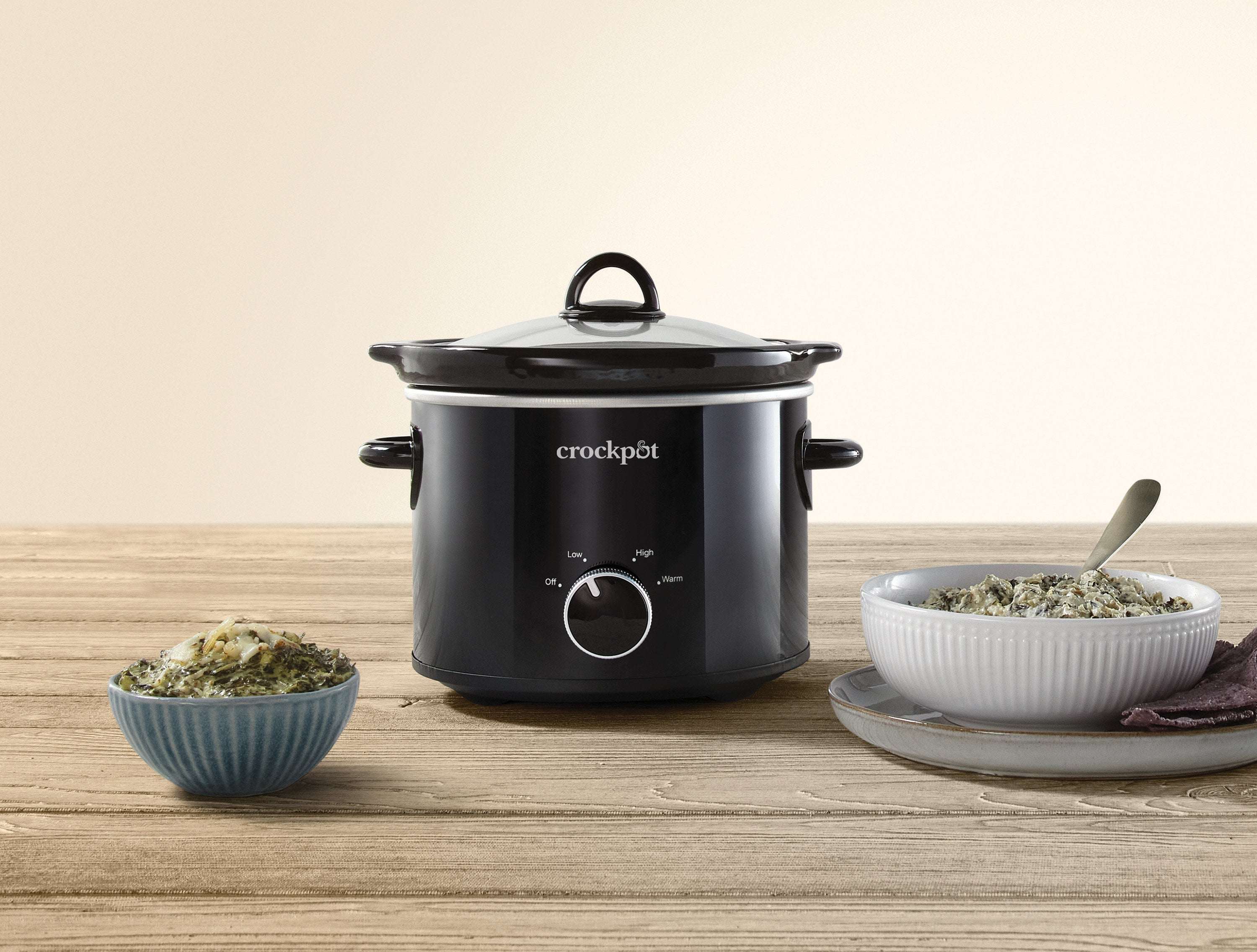 The mini slow cooker