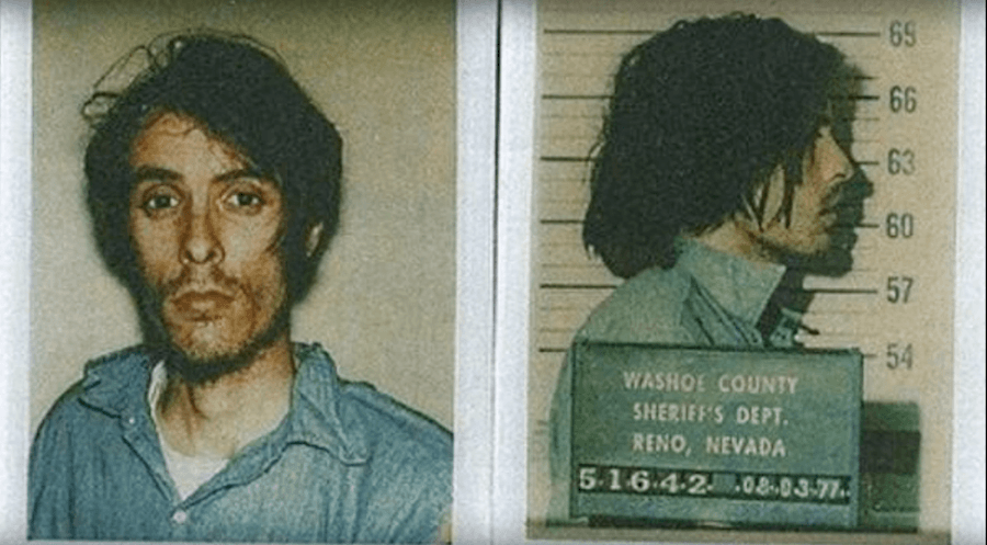 A mugshot of serial killer Richard Chase.