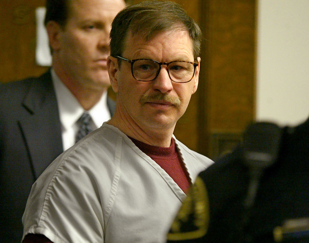 Photo of Gary Ridgway during his trial.