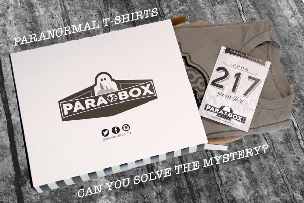 """the Para Box with text asking """"Can you solve the mystery?"""""""