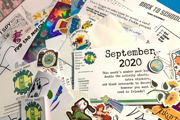 postage and stickers