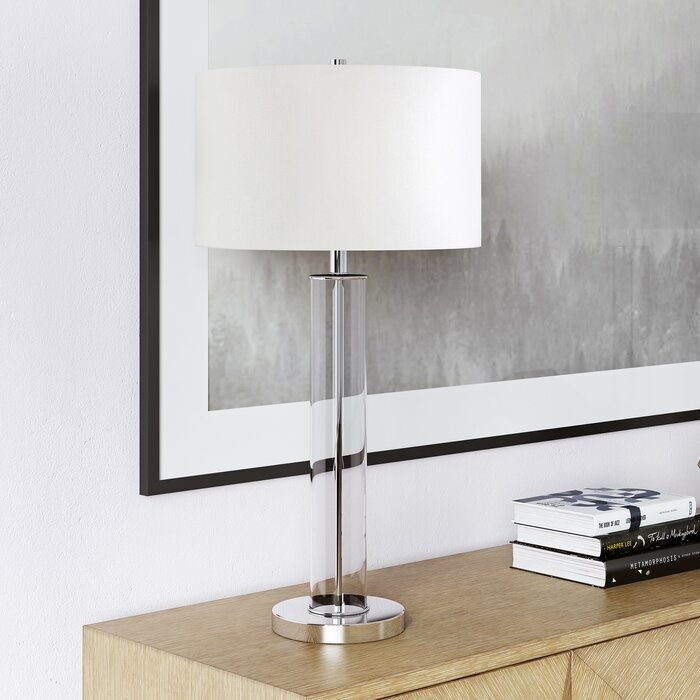 The table lamp