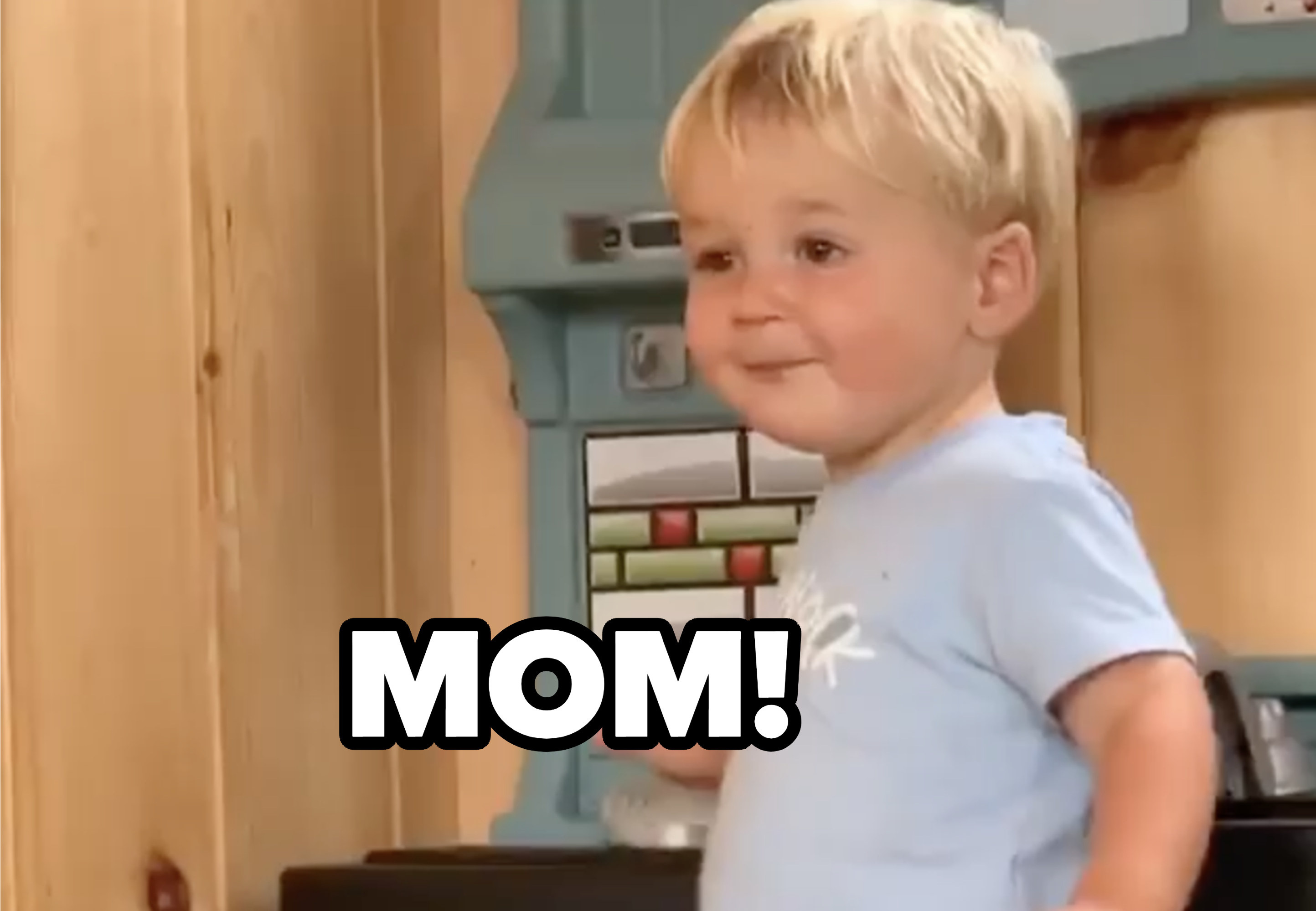 Amy Schumer's son saying mom