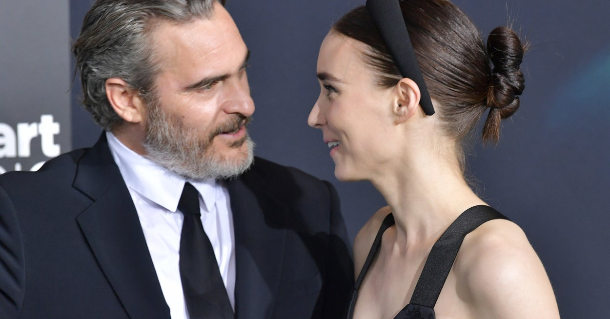 Joaquin Phoenix And Rooney Mara Have