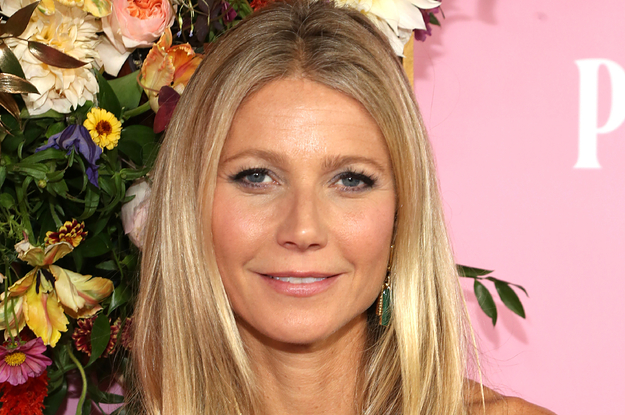 Gwyneth Paltrow Posed In Her Birthday…