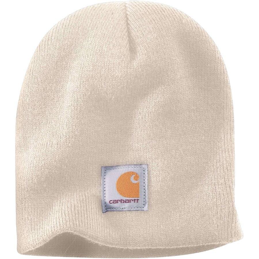 Carhartt knit beanie in a cream color