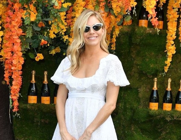 Sienna Miller attends the 11th Annual Veuve Clicquot Polo Classic
