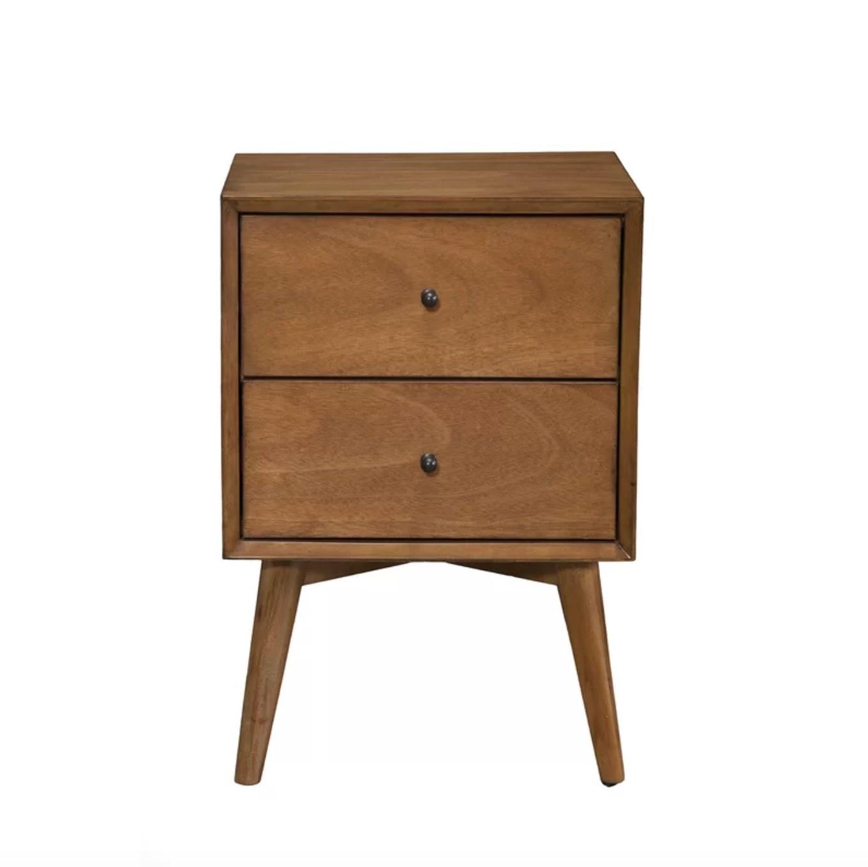 The nightstand in acorn