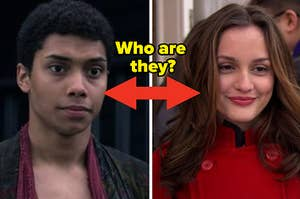 Ambrose from Chilling Adventures of Sabrina on the left and Blair from Gossip Girl on the right
