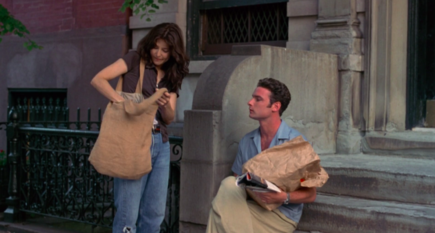 """Catherine Keener and Liev Schreiber in """"Walking and Talking"""""""