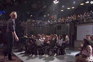 """Daniel Craig in front of a live audience at """"SNL"""""""