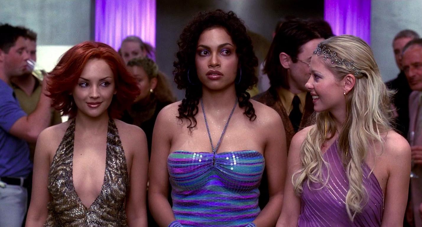 "Rachael Leigh Cook, Rosario Dawson, and Tara Reid in ""Josie and the Pussycats"""